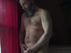 Verbal Bearded vidz Daddy Jerks  super Off & Cums