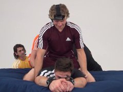 The Ticklish vidz Kiwi -  super Tickle Torture for a Personal Trainer in New Zealand