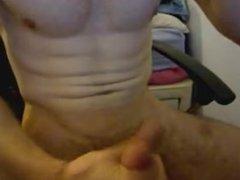 muscle nerd vidz shoots his  super wad