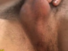 Str8 hunk vidz man plays  super with his average cock for pay