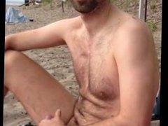 My Str8 vidz Best Buddy  super Dared To Cum At The Beach.
