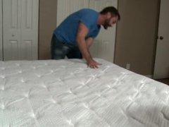 Men Over vidz 30 Jake  super Jennings & David Chase Breaking The New Bed
