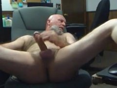 Old hairy vidz daddy shoot  super his load