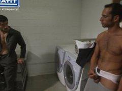 Caught Masturbating vidz To A  super Dirty Jock And Fucked