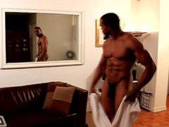 Next Door vidz Ebony Solo  super Boxer And His Huge Member