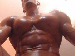 Muscle oil... vidz super muscle.