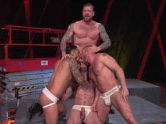 Raging Stallion vidz Orgy CLUSTERFUCK!
