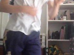 Sexy Ginger vidz Teen gets  super FIESTY in front of Webcam