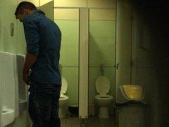 Spy Straight vidz Men Pissing  super Urinal