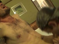 Straight Guy vidz Erick Gets  super His 1st BJ from a Guy!