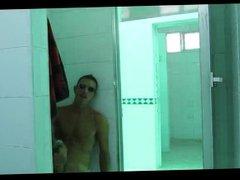 Shower Room vidz Jerk Off  super & Cum