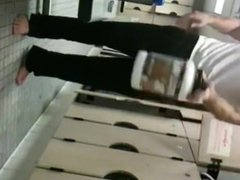 Sexy Guy vidz Strips in  super Locker Room Spycam