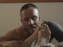 Ricardo Has vidz His Big  super Hungarian Feet Worshipped 2
