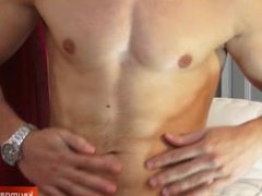 Delivery guy vidz gets wanked  super his big cock by us for a video in spite of him !