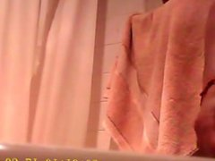 My straight vidz friend in  super my bathroom (hidden cam) part 1