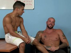 Armond Rizzo vidz & Sean  super Duran - Behind The Scenes Interview - Gay Daddy & Twink