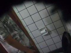 Espiando en vidz el baño