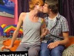 Naked gay vidz skater boys  super big dick Preston Andrews and Blake Allen celebrate