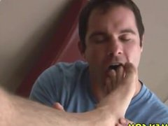 Feet sucking vidz licking toes  super muscles hairy jerking Kincade huge cock