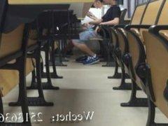 Alabama University vidz Student Jerks  super off in Auditorium
