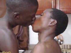 Amateur african vidz sucking dick  super while tugging