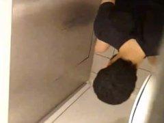 Spy arab vidz guy on  super toilet