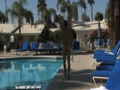 Hotel Guest vidz Fucks His  super Maid Boy By Pool