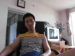 Asian guy vidz cums multiple  super times HOT!