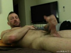 Hugh Hunter vidz Strokes his  super giant cock at JockMenLive.com