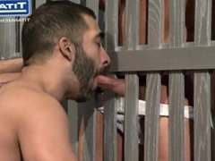 Big-Dicked Hairy vidz Latino Gets  super Face Fucked