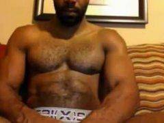 new sexy vidz black muscular  super amateur web cam