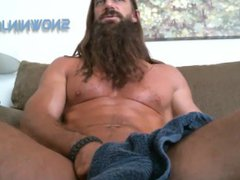 Hairy Verbal vidz Jerk -  super May 2015 Jerk Off