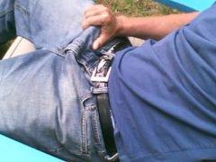 Stroke in vidz jeans #1