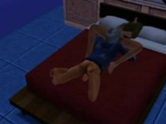 Jack Frost vidz and Hiccup  super doing some hot XXX actions(Sims 3)