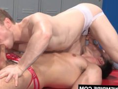 Hot hardcore vidz gay sex  super in locker room