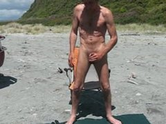 Steve patrick vidz wanking at  super beach