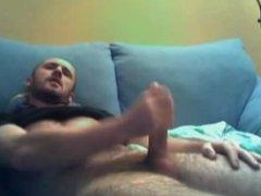 Str8 furry vidz leg hunk  super jerks hung cock and cums