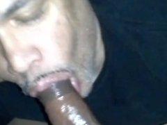 Jon sucking vidz dick again
