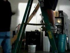 Repair Guy vidz Blowing Home  super Alone Twink