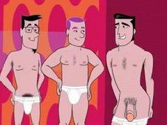 The Twist vidz Party Gay  super Orgy Cartoon add by Jamesxxx71