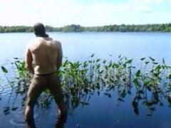 fishnet pantyhose vidz jerk off  super in lake
