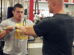 Ben P vidz and John  super A triceps