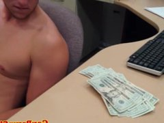 Straight jock vidz cocksucked for  super cash