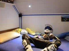 Wank in vidz Sherco Trial  super Suite, and Alpinestars