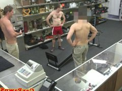 Muscled straightbait vidz nude workout  super at pawnshop