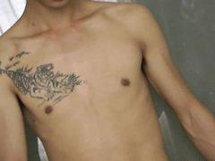 Tattoo Slave vidz Boy Milked