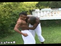 Small Gay vidz Bareback Hardcore  super By Black Beefy Guy