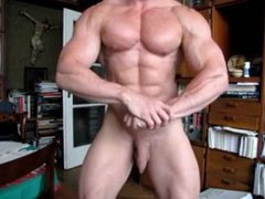 Bodybuilder has vidz long foreskin  super (yummy)