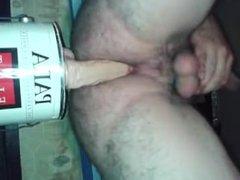 gay guy vidz with his  super dildo