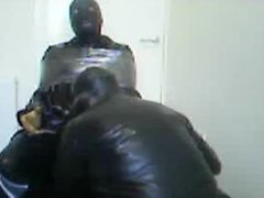 Rubber session vidz with Rochdale  super Tony in the chair.